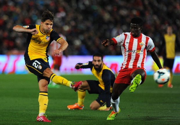 Almeria 2-0 Atletico Madrid: Verza knocks Simeone's men off top spot