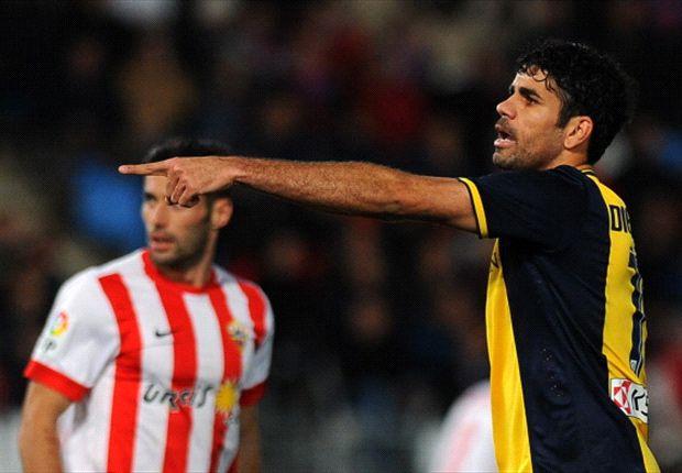 Diego Costa blieb heute glücklos
