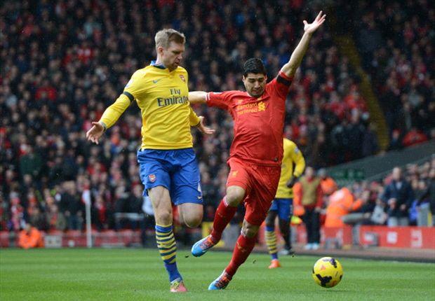 Mertesacker kecewa dengan kekalahan dari Liverpool