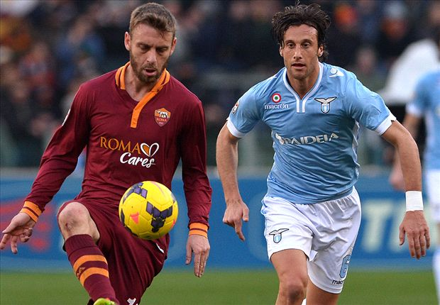 Lazio 0-0 Roma: Spoils shared as Biancocelesti tame Totti and Co.