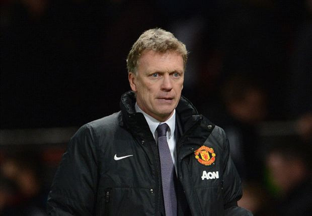 David Moyes cannot believe his eyes as Fulham hold Manchester United at Old Trafford.