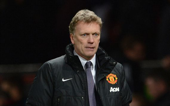 David Moyes Manchester United Fulham English Premier League 02092014