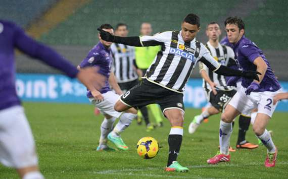 Udinese forward Luis Muriel