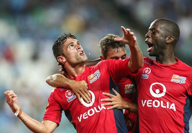 Adelaide rampant as Heart, Glory swelter - Round 18 of the A-League in pictures