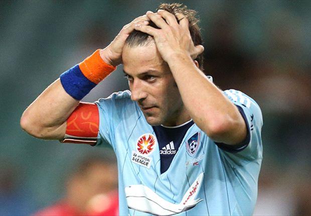 Alessandro Del Piero cuts a frustrated figure