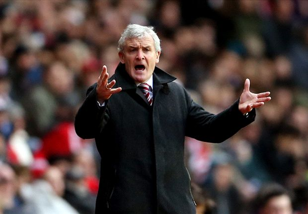 Hughes challenges Stoke to create history