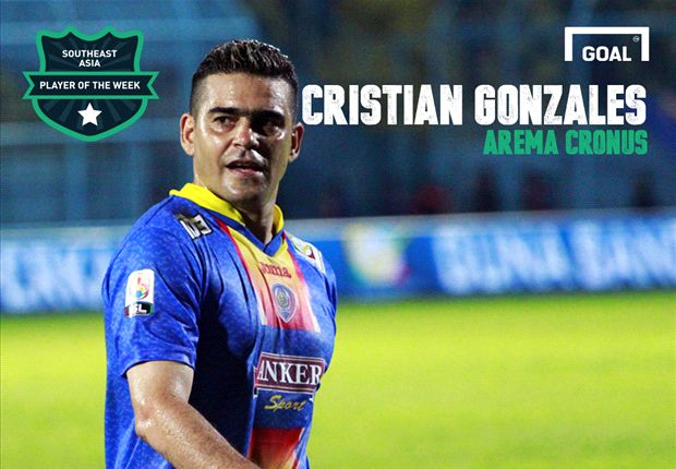 Pemain Terbaik Asia Tenggara Pekan Ini (1-10 Februari 2014): Cristian Gonzales