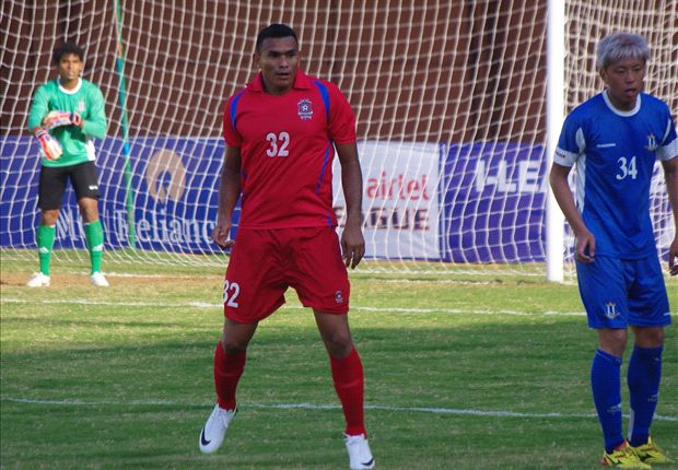 Costa Rican striker Cristian Lagos made his debut for Churchill Brothers