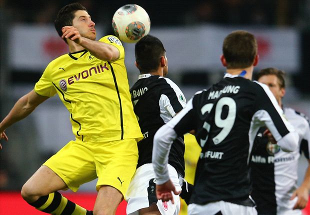 Eintracht Frankfurt 0-1 Borussia Dortmund: Aubameyang grabs late winner