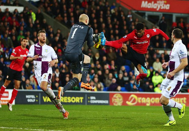 Cardiff City 0-0 Aston Villa: All square between Premier League strugglers
