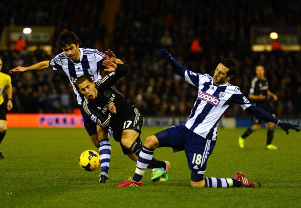 West Brom 1-1 Chelsea: Late Anichebe strike dents Blues' title challenge