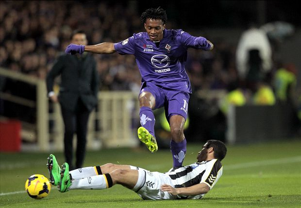 Fiorentina 2-0 Udinese (3-2 agg): Pasqual & Cuadrado screamers sends Viola into final