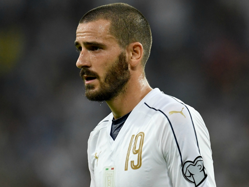 AC Milan officially confirm the signing of Bonucci from rivals Juventus