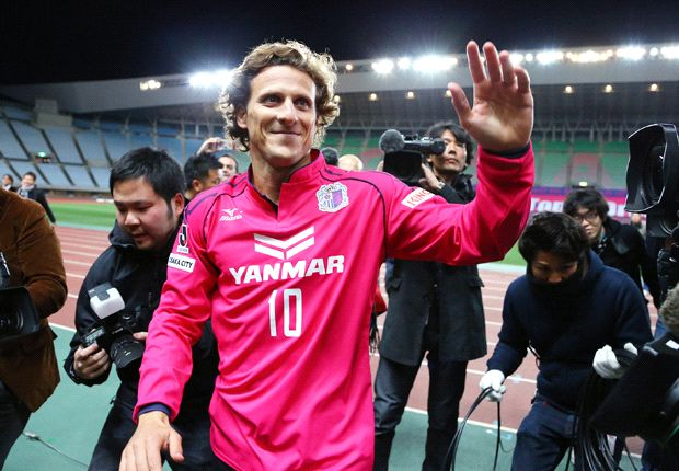 J-League challenge will prepare me for World Cup - Forlan