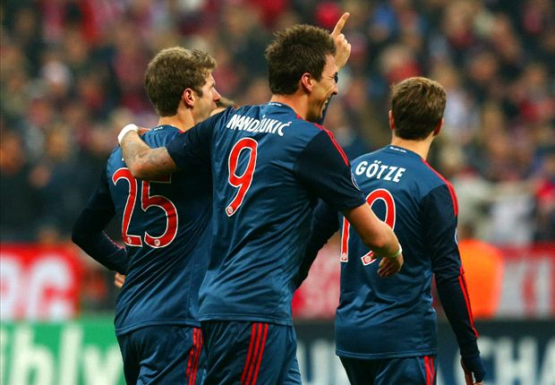 Hamburg 0-5 Bayern Munich: Manduzkic hat-trick fires holders into the DFB-Pokal semi-finals