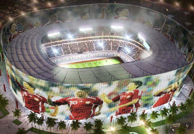 Zukunftsmodell: das Al-Rayyan Stadion für die WM 2022