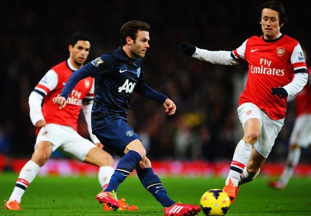 Draw against Manchester United not all bad for Arsenal