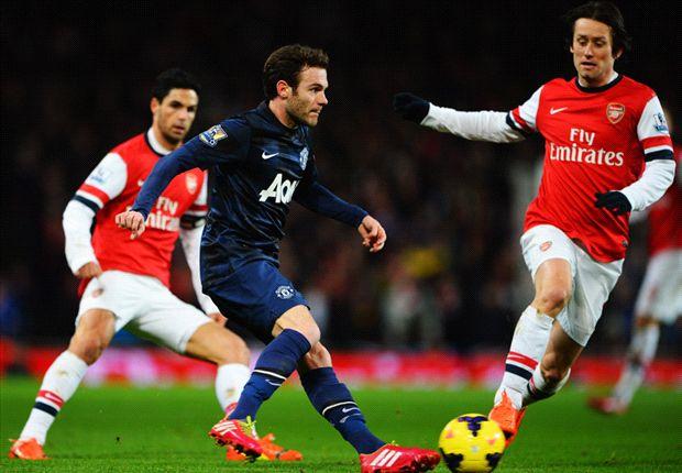 Arsenal & Manchester United Imbang Tanpa Gol