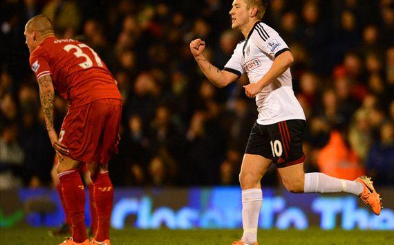 Lewis Holtby Fulham Liverpool Premier League 02122014