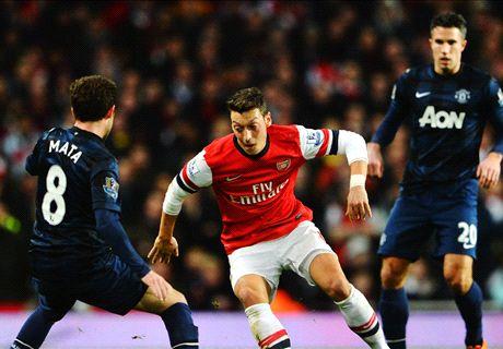 Las curiosidades del Arsenal - Man Utd