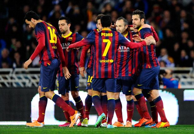 Barcelona 6-0 Rayo Vallecano: Messi matches Raul record