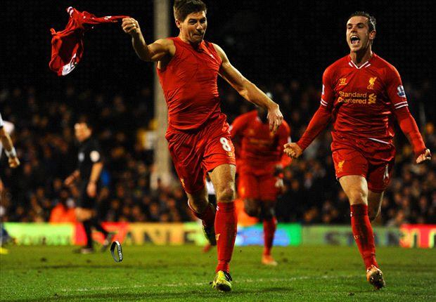 Gol Penalti Steven Gerrard Menangkan Liverpool