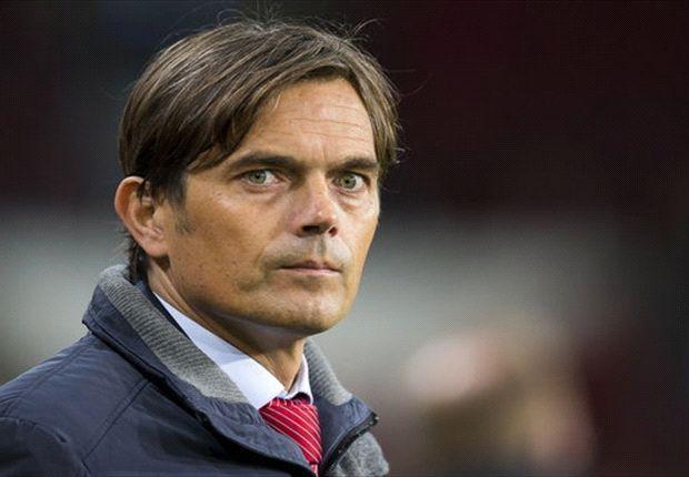 Philippe Cocu, allenatore del PSV Eindhoven