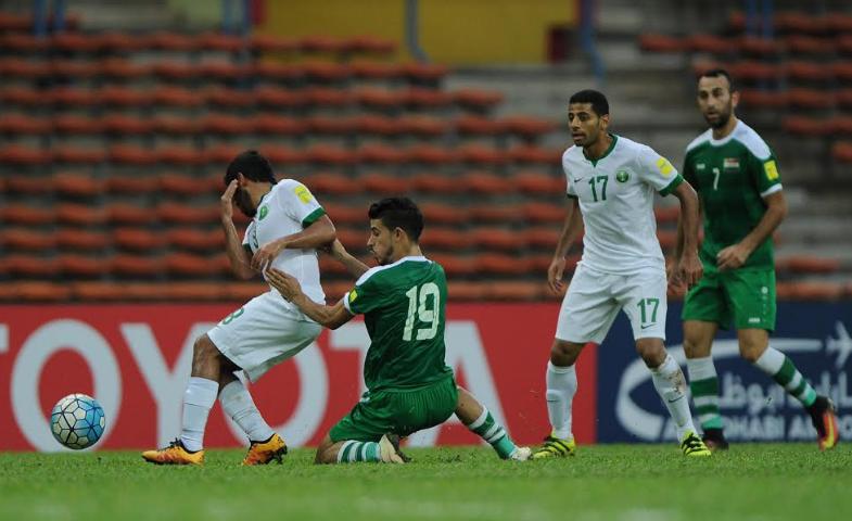 لاعب العراق: المنتخب السعودي المرشح الوحيد للتأهل لكأس العالم !