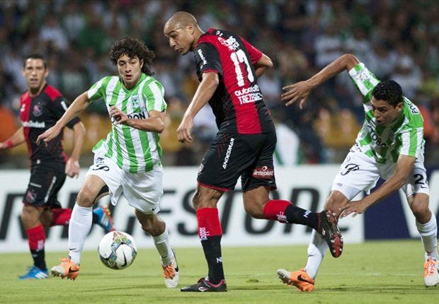 Newell's perdió 1-0 ante Atlético Nacional en su debut en la Copa Libertadores