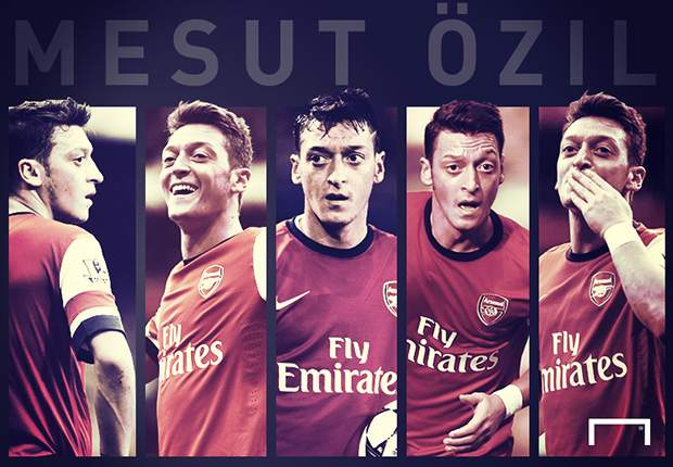 Will the real Mesut Ozil please stand up