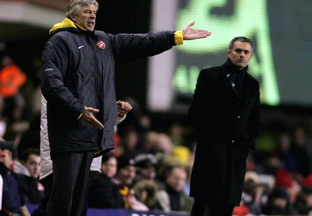 Mourinho in Wenger dig: 1000 matches fantastic with so many bad moments