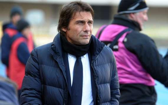 Juventus head coach Antonio Conte