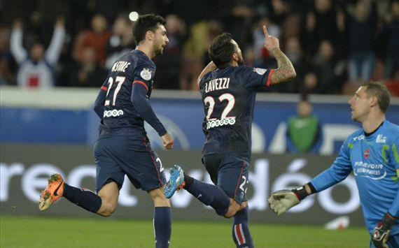 Lavezzi - Pastore - Paris Saint-Germain - PSG