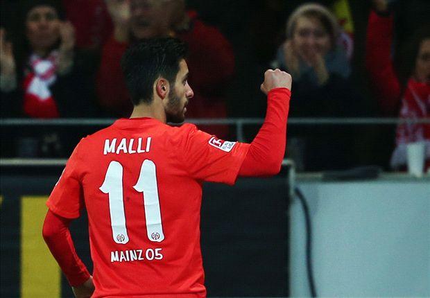 Yunus Malli leitete mit seinem Treffer für Mainz 05 den Sieg gegen Hannover 96 ein