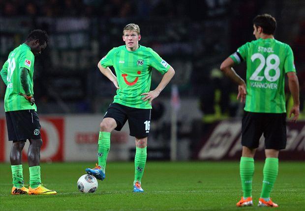 Yunus Malli hatte für Mainz 05 allen Grund zum Jubel gegen Hannover 96