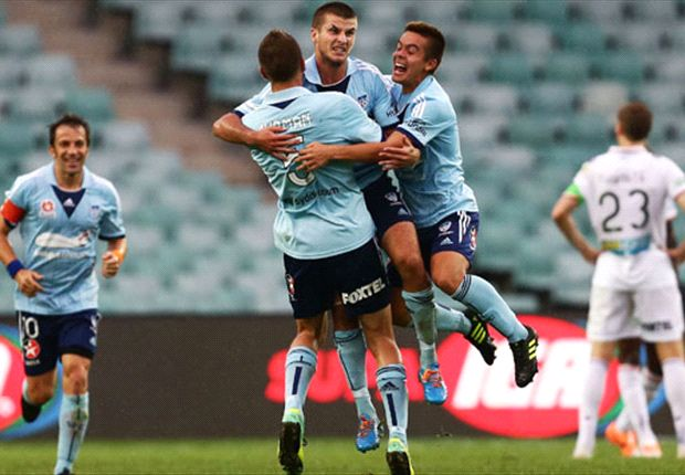 Sydney FC 2-1 Perth Glory: Antonis stars as Sky Blues down Glory