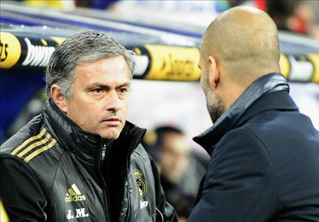 Mourinho vs Pep head to head