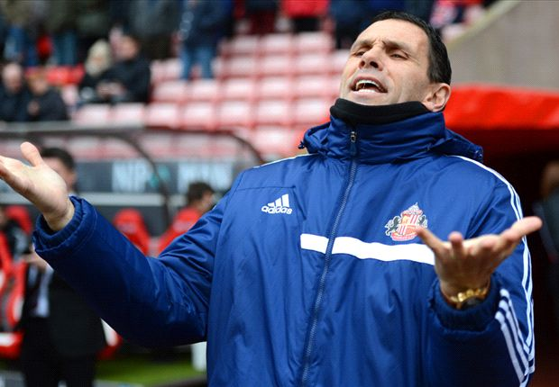Sunderland boss Poyet fears Manchester City backlash at Wembley