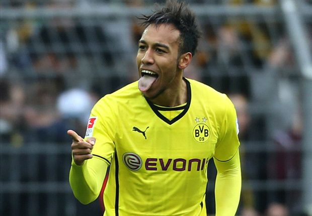 Borussia Dortmund 4-0 Eintracht Frankfurt: Auba double secures straightforward success