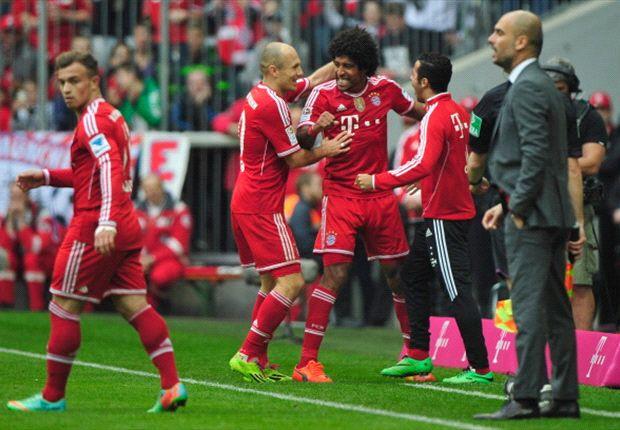 Dante brach den Bann und brachte Bayern auf Kurs