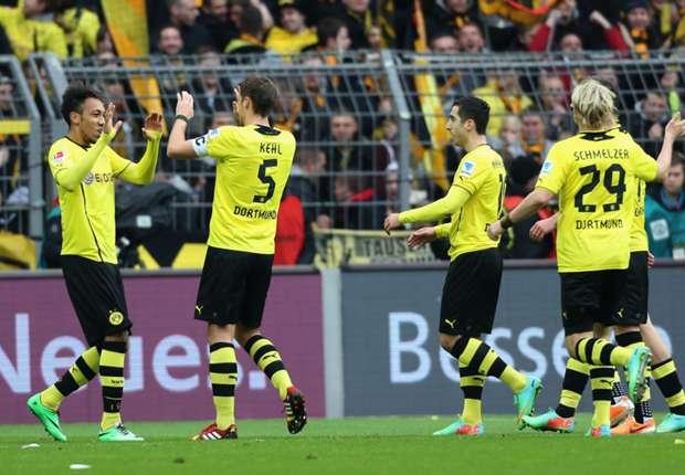 Dortmund siegt daheim wieder