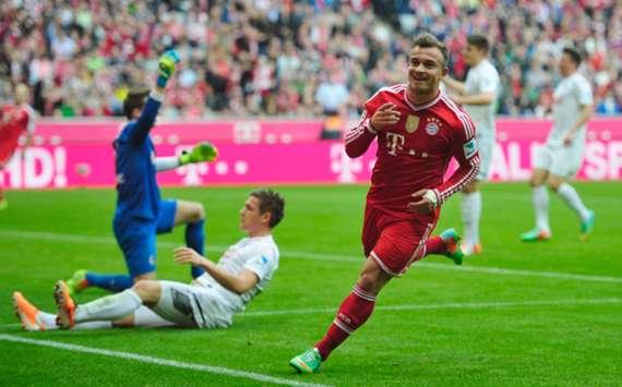 Bayern Munich 4-0 SC Freiburg : le Bayern et Shaqiri déroulent