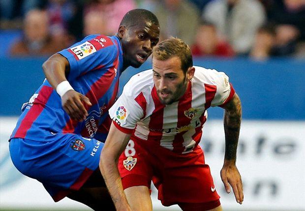 Levante 1-0 Almería: David Barral cumple y los granotas duermen en Europa