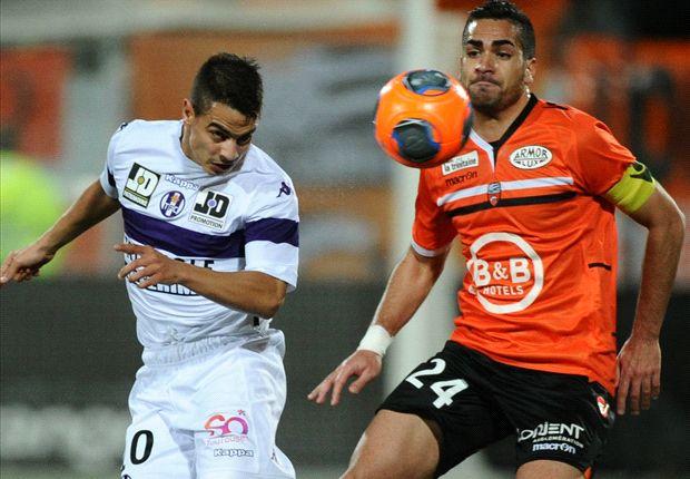 Lorient-Toulouse (1-3), Toulouse punit Lorient