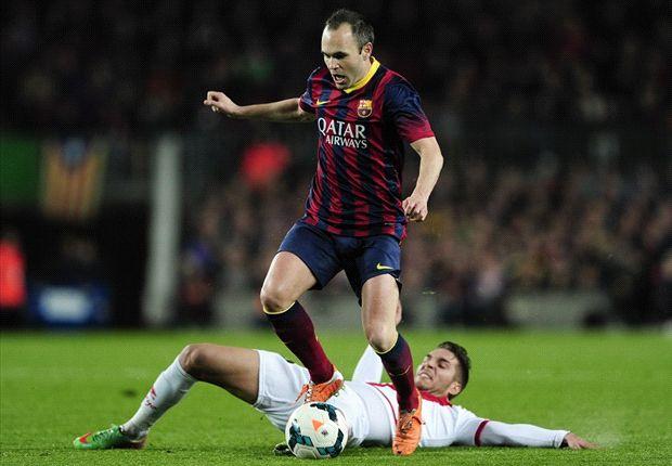 Andrés Iniesta destacó por su manera de conducir el encuentro