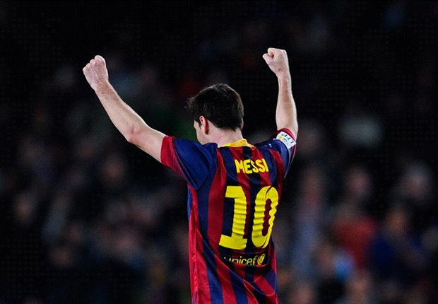 Messi level with Raul as third highest goalscorer in La Liga