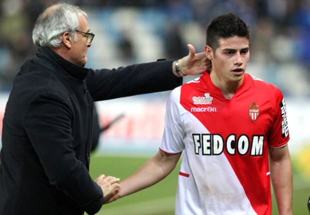 How did James Rodriguez perform for Monaco in Ligue 1 last season?