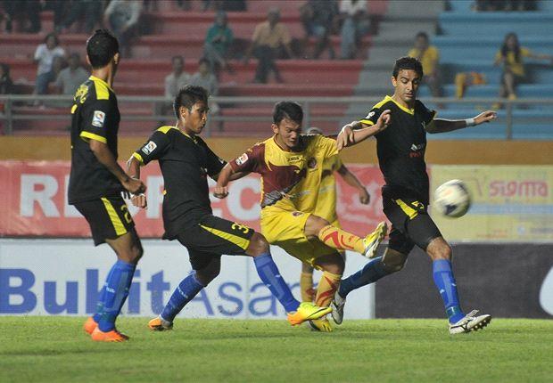 Gresik United tampil agresif untuk mengungguli Sriwijaya FC