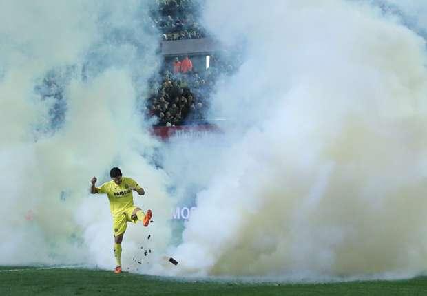 Villarreal face €4,000 fine for tear-gas incident
