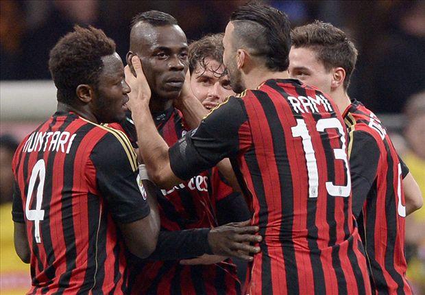 Muntari joins Milan to celebrate